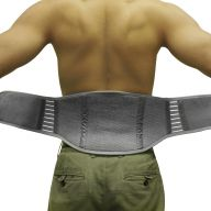 Bamboo Pro™ Self Warming Back Support (Sizes: S/M)