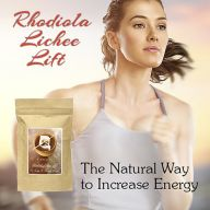 Rhodiola Lichee Lift Tea | For Natural Energy (Quantity: Single)